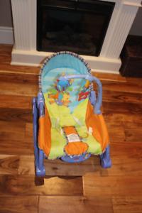 Baby chair - Fisher Price Newborn-to-Toddler Portable Rocker