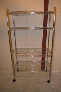 HEAVY DUTY STORAGE CART WITH WHEELS