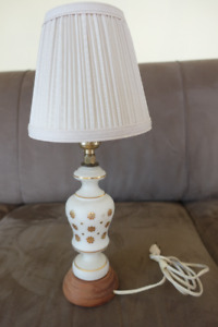 Vintage small table lamp