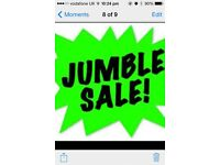 Jumble Sale SATURDAY 25th MARCH