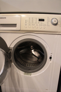 Samsung apartment size washer and dryer set