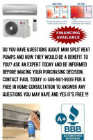 LG MINI SPLIT HEAT PUMPS - ASK THE EXPERTS !!