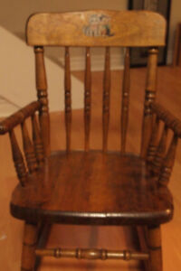 Antique Bass River Child's Rocking Chair