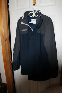 Columbia 3 season coat jacket