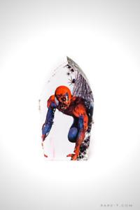 Handmade 'ZOMBIE SPIDER-MAN' Coffin