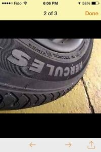 Tires with rims 225 55  R17 London Ontario image 2