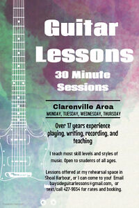 Offering Guitar Lessons In The Clarenville Area St. John's Newfoundland image 1