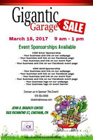 Gigantic Indoor Garage Sale