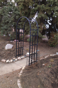 Garden Archway and Bench