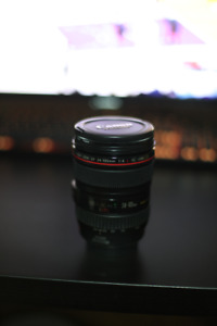 Perfect Condition Canon EF 24-105mm f/4L IS USM Lens /w filter