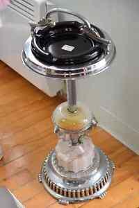 Stunning ashtray - beautiful chrome.  One of a kind!