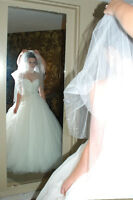 romance cotour wedding dress size 6