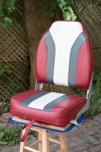 Wise Raider 16'' High Back Boat Seat with Swivel