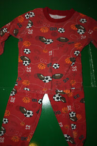 Organic Cotton Boys Pajamas - Size 5