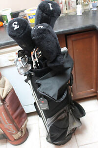 Used once new set of Knight golf clubs and extras Kawartha Lakes Peterborough Area image 2
