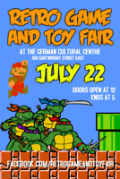 Retro Game and Toy Fair