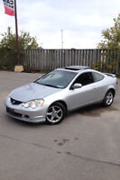 2002 Acura RSX Premium Coupe (2 door). Safety and Emissions.