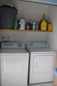 Washer/Dryer and FRIDGE for sell, in good condition