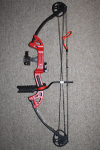 Red PSE Micro Burner Compound Bow