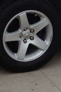 Mint 17 inch OEM rims, MICHELIN WINTER TIRES AND TPMS SENSORS