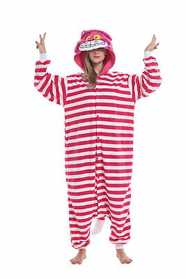 Women Men Unisex Adult Onesie0 Animal Cat Kigurumi Pajamas Cosplay Costume - Adult Cat Onesie