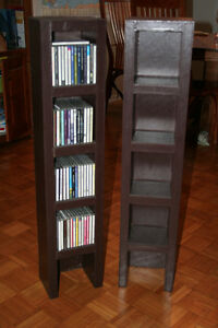 CD Towers, Espresso Leather-look