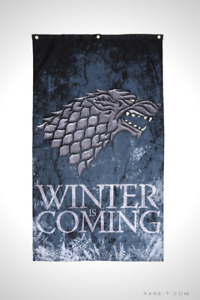 'GAME OF THRONES - WINTER IS COMING' Banner