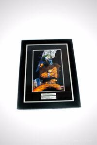 'JOKER'S ASYLUM PRINT - SIGNED BY TONY DANIEL' custom frame
