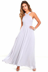 Beautiful light grey bridesmaid dresses