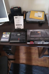 Zoom R8 and tutorial dvd...300/obo