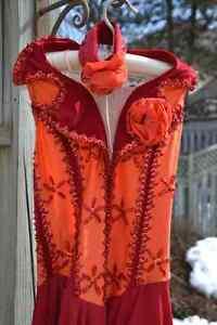 Beautifully Detailed Skating Dress Kitchener / Waterloo Kitchener Area image 2