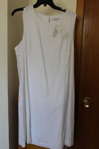 *** BRAND NEW *** ALFRED SUNG EYELET DRESS