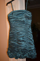 Prom Dress Size 2 Teal Color