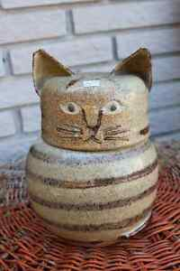 Cat Cookie Jar - One of a kind