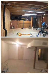 General Contracting, Basement Finishing,Bath reno, Interlocking Cambridge Kitchener Area image 3