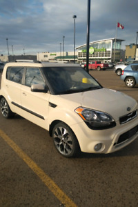 2012 Kia Soul - with studded winter tires
