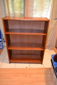 Ikea Adjustable Shelf, wooden, good condition, bookcase