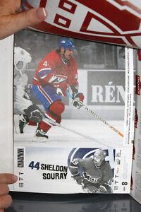 CANADIENS DE MONTRÉAL 2004-2005 NHL Billets Tickets Booklet West Island Greater Montréal image 5