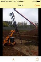 Pile drilling residential commercial concrete piles screw piles