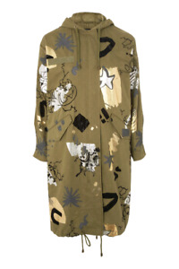 BNWT OVERSIZED PRINTED PARKA