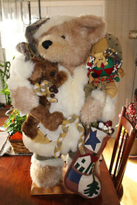 30 INCH STUFFED CHRISTMAS BEAR - $75