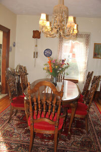 Vilas dining room furniture for sale, exceptional condition
