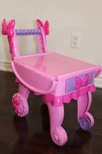 Minnie Mouse Rolling Tea Cart