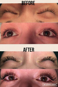 Eyelash Extensions means no makeup on vacation!! Strathcona County Edmonton Area image 3