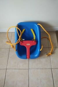 Like-new! Fisher Price Toddler Swing with hooks