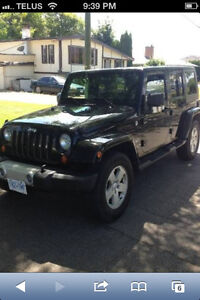 2007 Jeep Wrangler Black SUV, Crossover