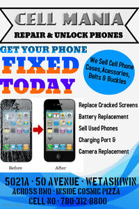 CELL MANIA - CELL PHONE REPAIR CENTRE - REASONABLE PRICE IN TOWN