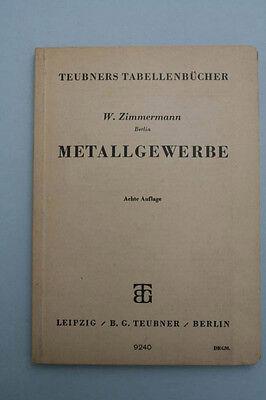 W.Zimmermann - Teubners Tabellenbücher Heft M
