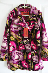 MISSONI for Target Girls Trench Coat -Size S (6/6x)