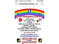 JT Plumbing, Heating Engineer&Gas 24H Emergency Plumber
